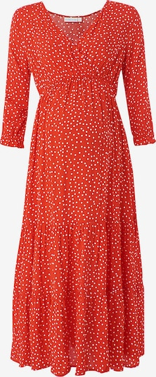 JoJo Maman Bébé Umstandskleid in rot, Produktansicht