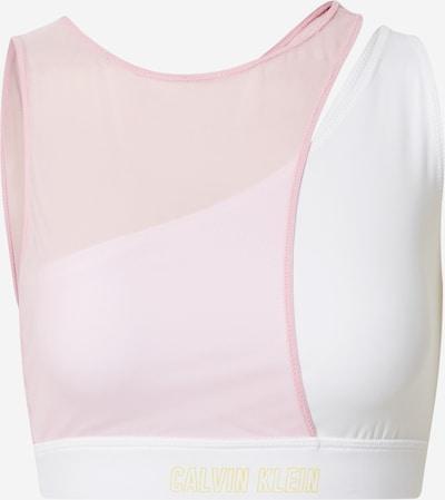 Calvin Klein Performance Biustonosz sportowy w kolorze złoty / pastelowy róż / offwhitem, Podgląd produktu