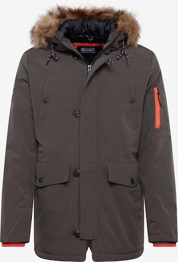 INDICODE JEANS Zimska jakna 'Leake' | kaki barva, Prikaz izdelka