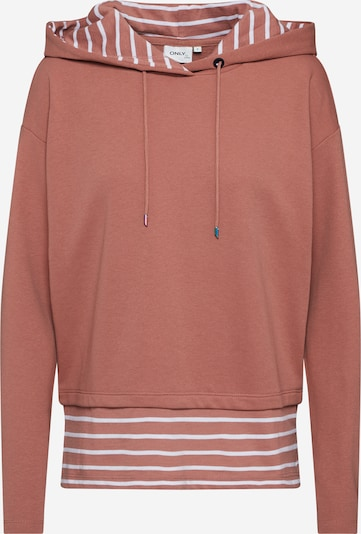 Megztinis be užsegimo 'ONLFMARINA ' iš ONLY , spalva - ruda / balta, Prekių apžvalga