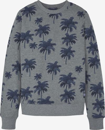 TOM TAILOR Strick & Sweatshirts Sweatshirt mit Palmen-Print in grau, Produktansicht