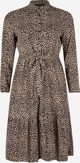 Dorothy Perkins Curve Košeľové šaty - hnedé / čierna, Produkt