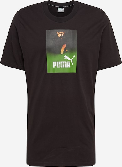 PUMA T-Shirt 'Retro Ad Graphic Tee' in schwarz, Produktansicht