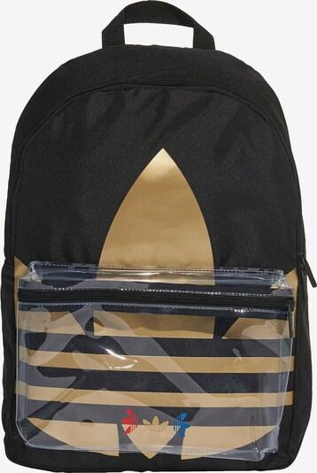 ADIDAS ORIGINALS Rugzak in de kleur Goud / Zwart, Productweergave