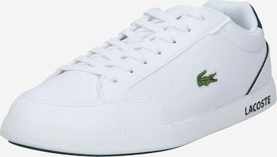LACOSTE Niske tenisice 'GRADUATECAP' u tamno zelena / bijela, Pregled proizvoda