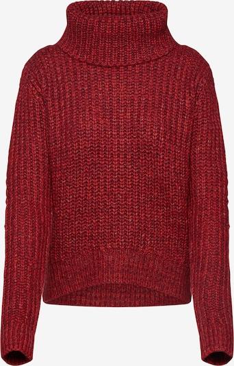 Dorothy Perkins Sweter COLOUR BLOCK JUMPER w kolorze czerwonym 7FGOMRvH