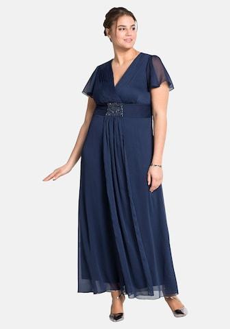SHEEGO Abendkleid - Modrá