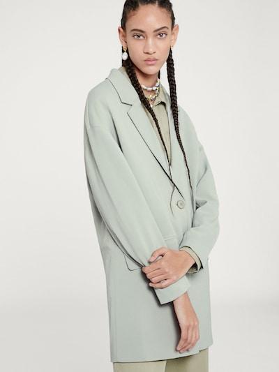 Blazer švarkas 'Dima' iš EDITED , spalva - pastelinė žalia, Modelio vaizdas