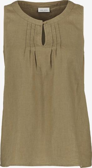GERRY WEBER Bluse ohne Arm Blusentop aus Leinen in grün, Produktansicht