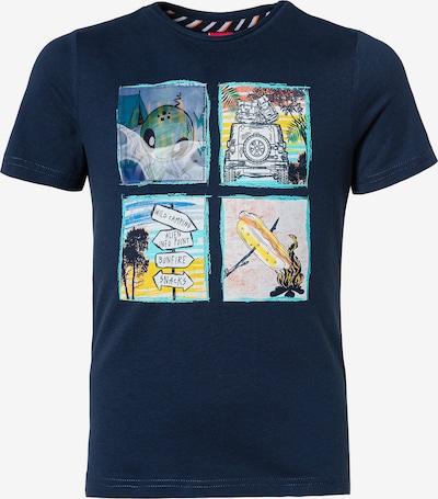 s.Oliver Junior T-Shirt in dunkelblau / mischfarben, Produktansicht