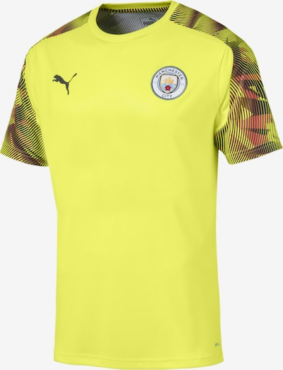 PUMA Trainingstrikot 'Manchester City FC' in gelb / rot / schwarz, Produktansicht