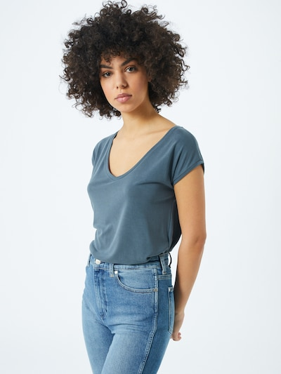 PIECES T-Krekls 'PCKAMALA' zils, Modeļa skats