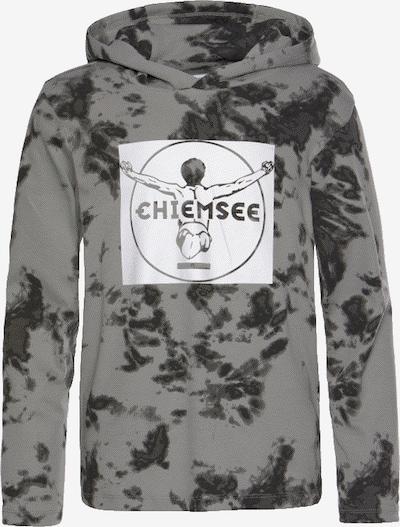 CHIEMSEE Langarmshirt in anthrazit / hellgrau, Produktansicht