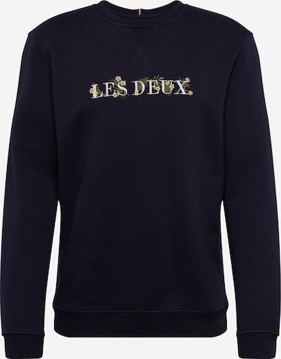 Les Deux Sweatshirt 'Fleur-De-Lis' in navy, Produktansicht