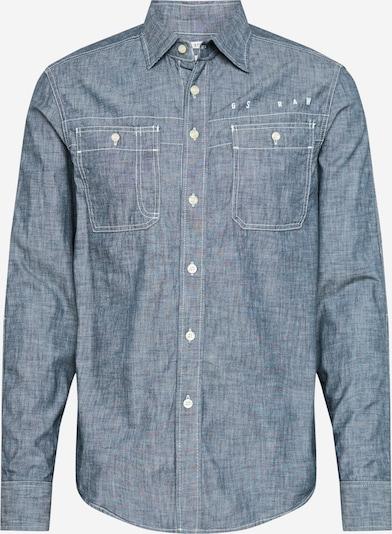 G-Star RAW Overhemd 'Kinec' in de kleur Blauw gemêleerd, Productweergave