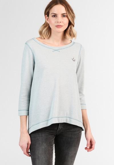 DREIMASTER Sweater in Azure, View model