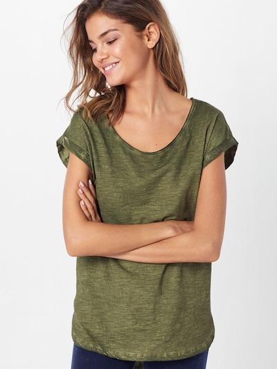 Urban Classics Shirt in oliv: Frontalansicht