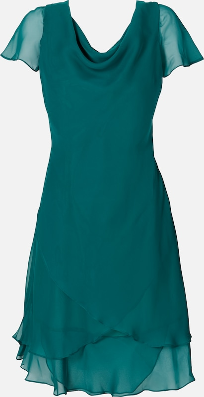 Sheego style Kleid in petrol  Neu in diesem Quartal