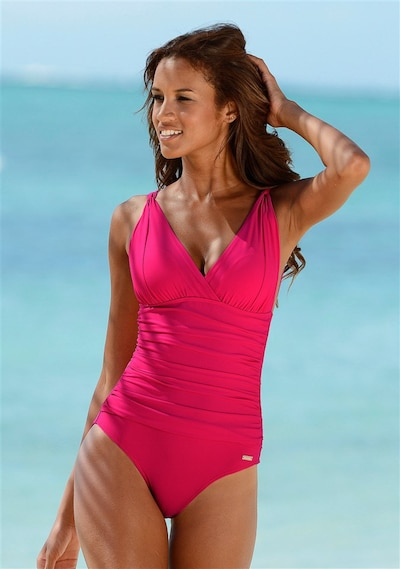 LASCANA Shaping swimsuit in Raspberry, Item view
