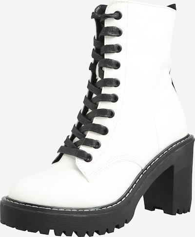 Public Desire Stiefelette 'FEARNE' in schwarz / weiß, Produktansicht