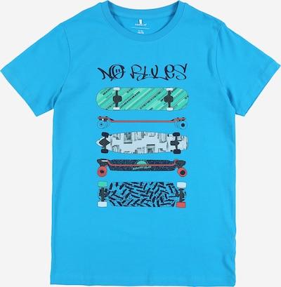 NAME IT Shirt in himmelblau / mischfarben, Produktansicht