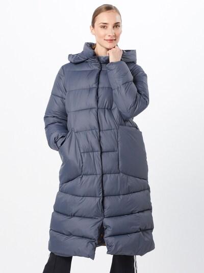 NÜMPH Wintermantel 'Numatalin' in blau, Modelansicht
