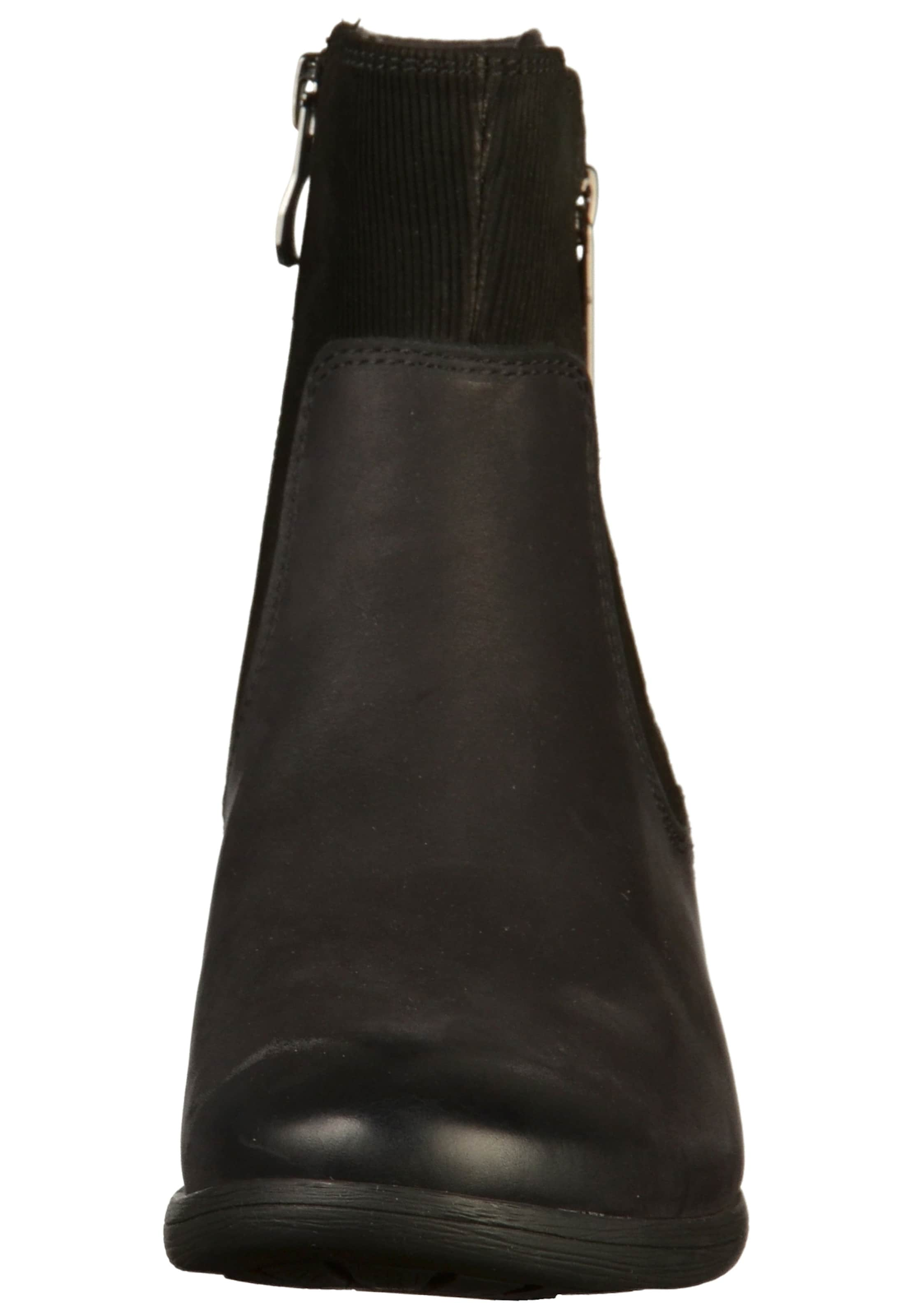 CAPRICE Stiefelette Leder, Textil Bequem, aussehend gut aussehend Bequem, ecb5e1
