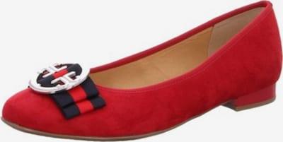 ARA Ballerina in rot / schwarz, Produktansicht