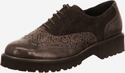 SEMLER Schnürschuh in braun / graumeliert, Produktansicht