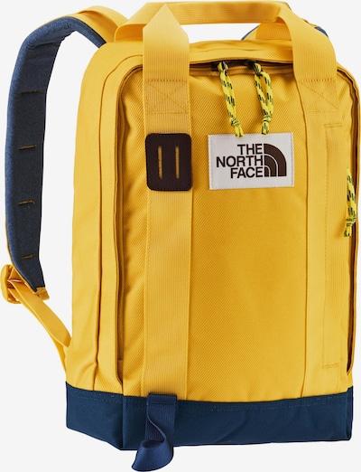 THE NORTH FACE Rucksack in taubenblau / gelb, Produktansicht