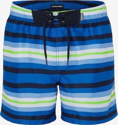 CHIEMSEE Boardshorts en bleu, Vue avec produit