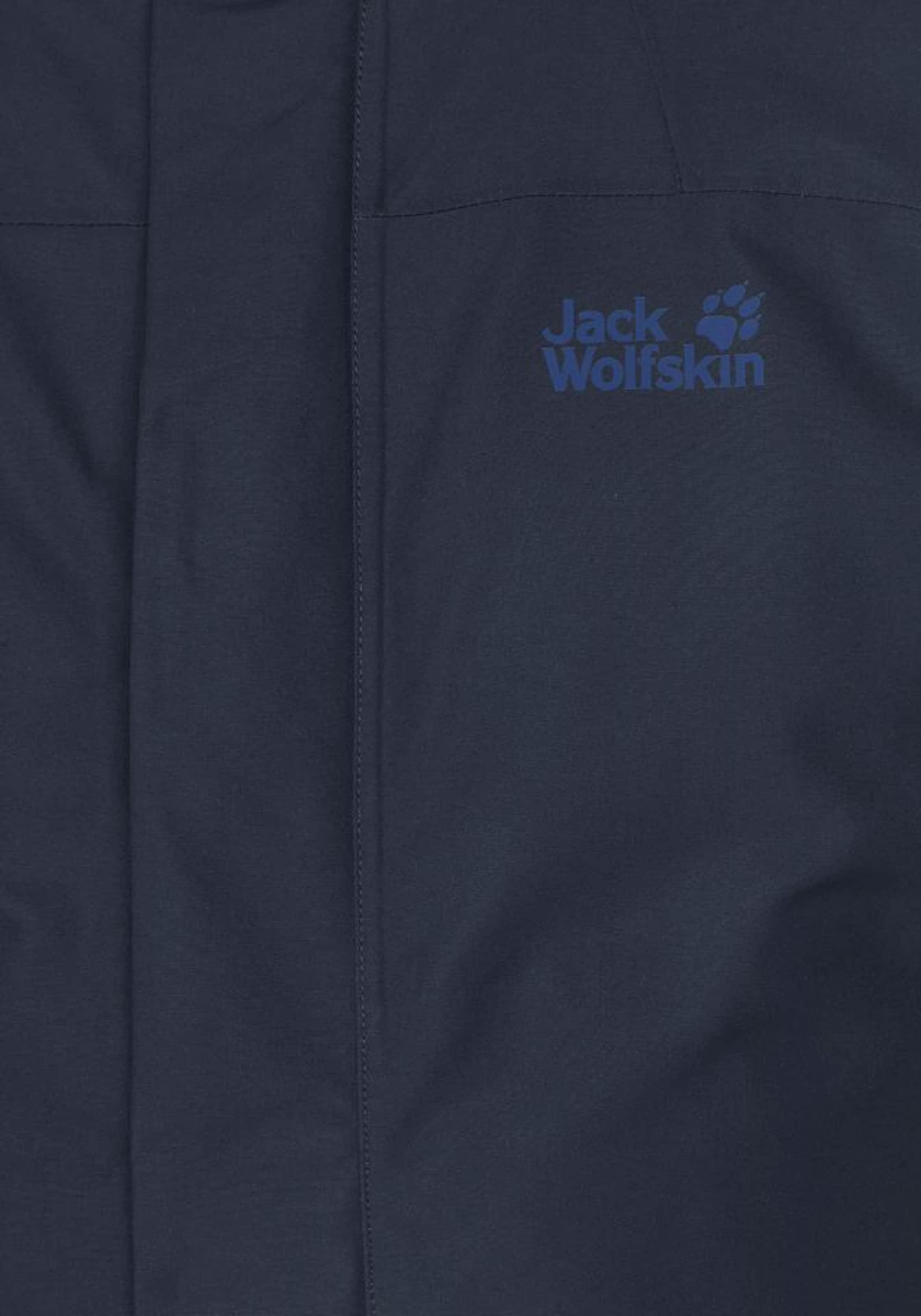 Jack Wolfskin In Edge' Funktionsjacke 'northern Dunkelblau 1JFKlc