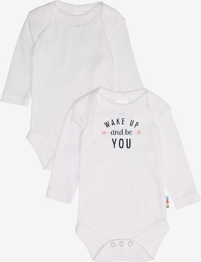 LILIPUT Langarm-Body 2er-Pack in weiß, Produktansicht