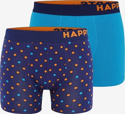 Happy Shorts Retroshorts ' Trunks ' in blau / hellblau, Produktansicht