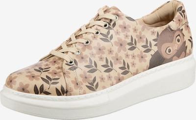 DOGO Sneaker in hellbraun / mischfarben, Produktansicht