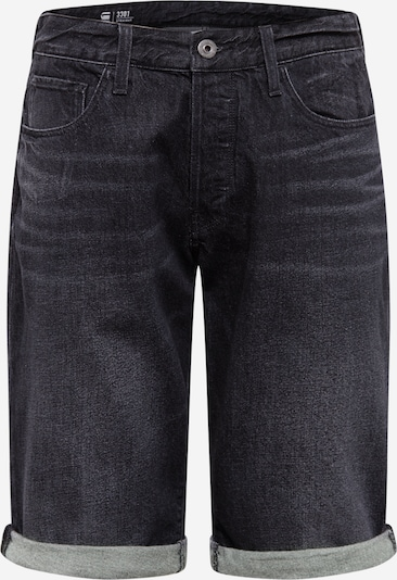 G-Star RAW Short in black denim, Produktansicht