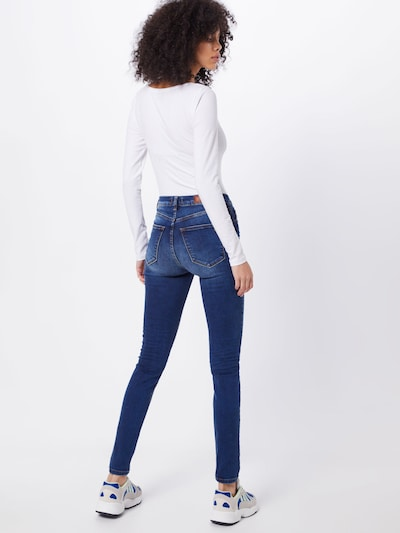 LTB Jeans 'AMY' in de kleur Blauw denim: Achteraanzicht