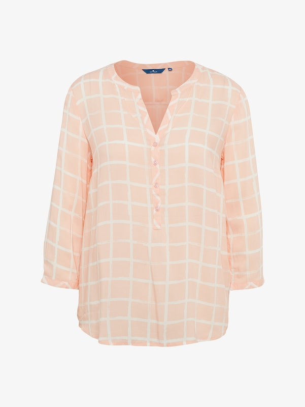 TOM TAILOR Shirt / Blouse karierte Bluse