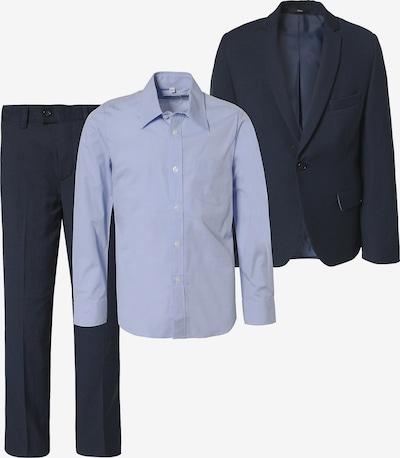 WEISE Anzug in nachtblau / hellblau, Produktansicht
