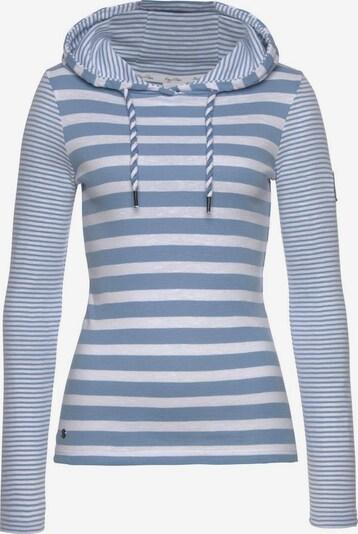 KangaROOS Shirt in rauchblau / weiß, Produktansicht