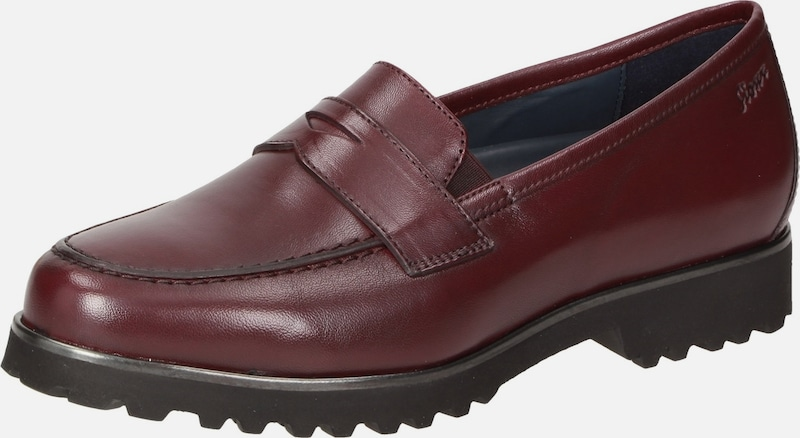 SIOUX Slipper ' Meredith-709-XL ' in bordeaux: Frontalansicht