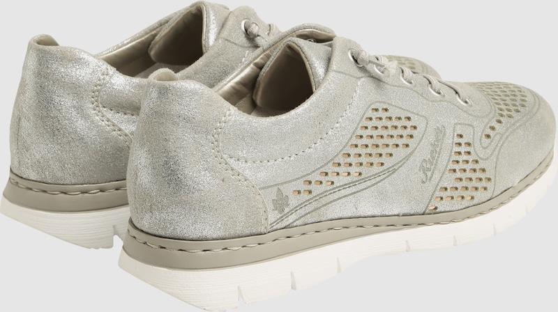 RIEKER Sneaker mit glänzender Oberfläche