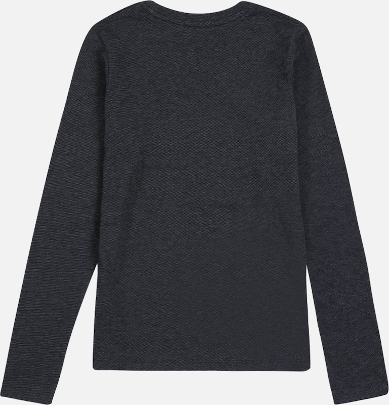 Jack & Jones Junior Shirt in dunkelblau / rot / weiß: Rückansicht