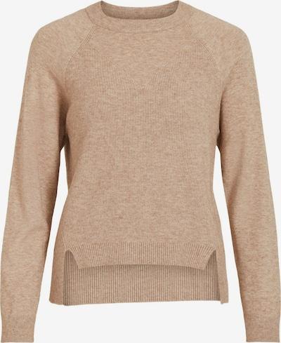 OBJECT Pullover in beigemeliert / braunmeliert, Produktansicht