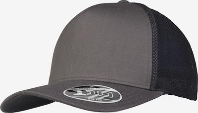Flexfit Cap '110 Trucker' in basaltgrau / schwarz, Produktansicht