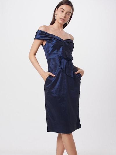 APART Robe de cocktail en bleu foncé: Vue de face