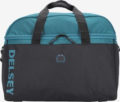 DELSEY Reisetasche in himmelblau / schwarz, Produktansicht