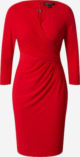 Lauren Ralph Lauren Robe de cocktail 'CARLONDA' en rouge, Vue avec produit
