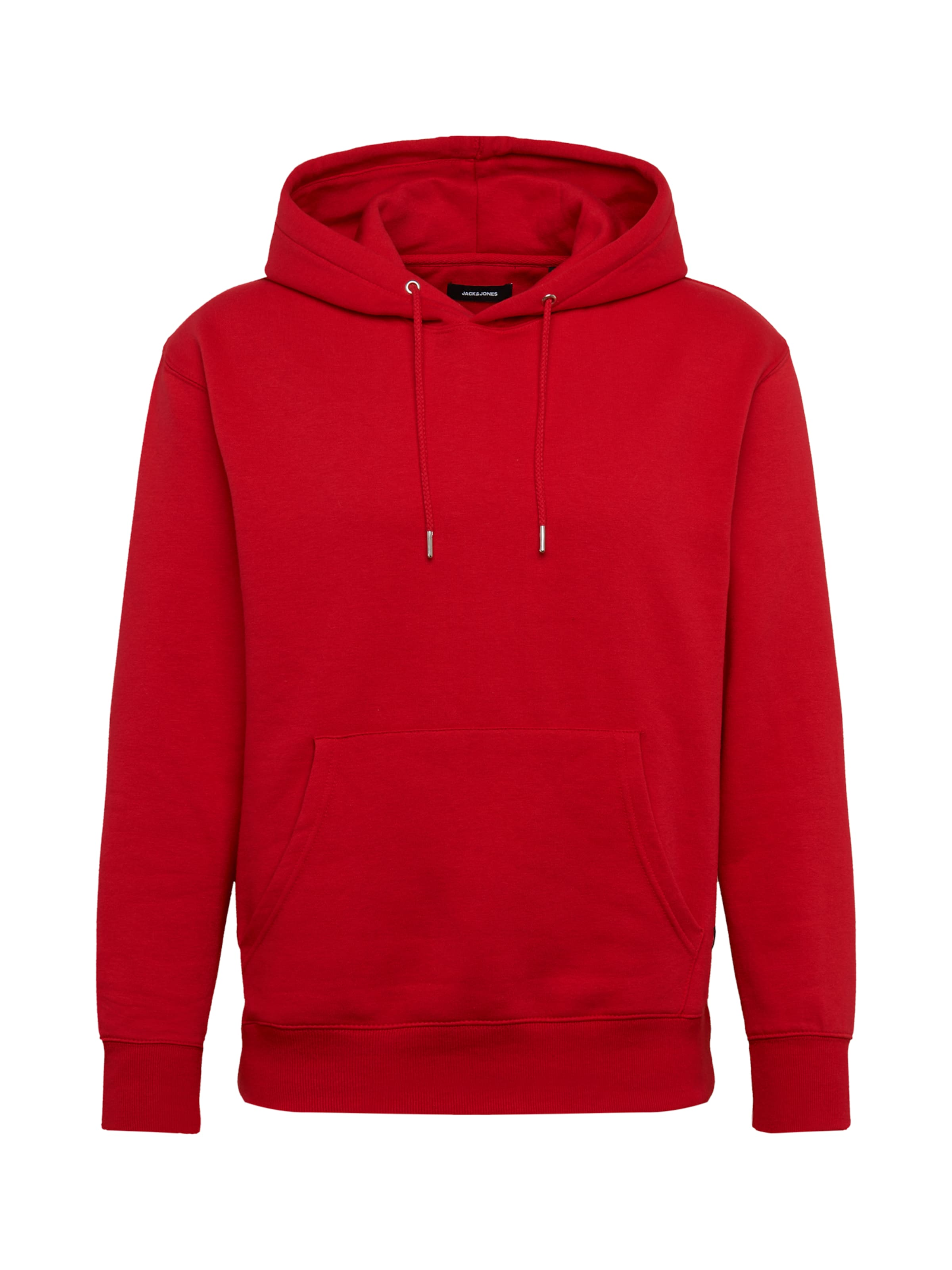 JACK & JONES Sweatshirt 'SOFT' i röd