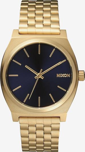 Nixon Armbanduhr 'Time Teller' in dunkelblau / goldgelb, Produktansicht